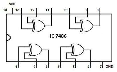 IC 7447 74LS47 is a BCD to 7-segment decoder/driver IC . It accepts a binary