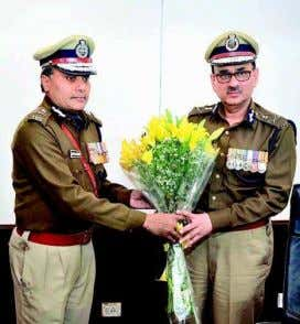 "can be digitised for the people,"" said Mr. Patnaik. CHANGE OF GUARD: Outgoing Delhi Police Commissioner"