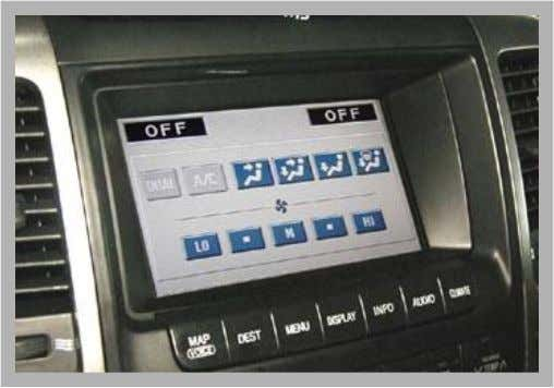 Body Electrical -W  Multi Display and Navigation System • Multi Display Functions – Audio screen