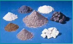 Fly ash  Slag  Silica Fume  Calcined Clay Fig. 2-19. Blended cements (ASTM