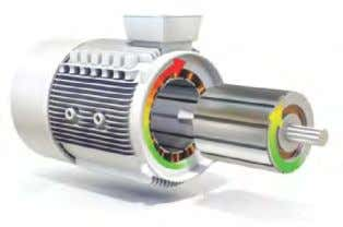 Electric motor Stator – rotating magnetic field Rotor – rotating motor shaft