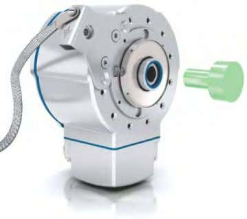 shaft via the encoders cover. Available in the 800 series. Flexible xing A hollow shaft encoder
