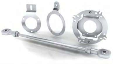 insulated Ÿ Torque arm brackets – several different types Ÿ Stator couplings – several different types