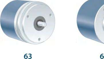 Ruggedized Solid Shaft Incremental Encoder - 500 Series