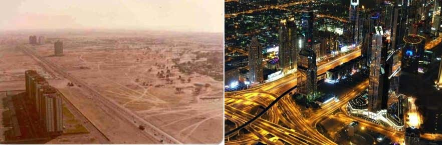 Potentials This is Dubai in 1970. This is Dubai today. You could argue Dubai is a