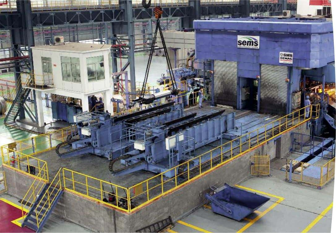 Overall view of the mill. CVC ® -6 Reversing cold rolling mill, CCM ® (Commissioned
