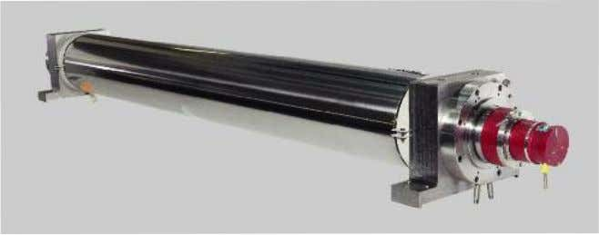 The X-Shape flatness measuring roller from SMS group is sturdy and works with precision. The RCM