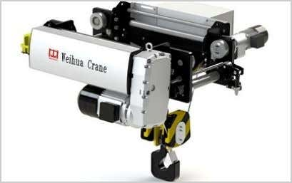 > European Crane > European Electric Hoist Overview Features Technical Data European Electric Hoist