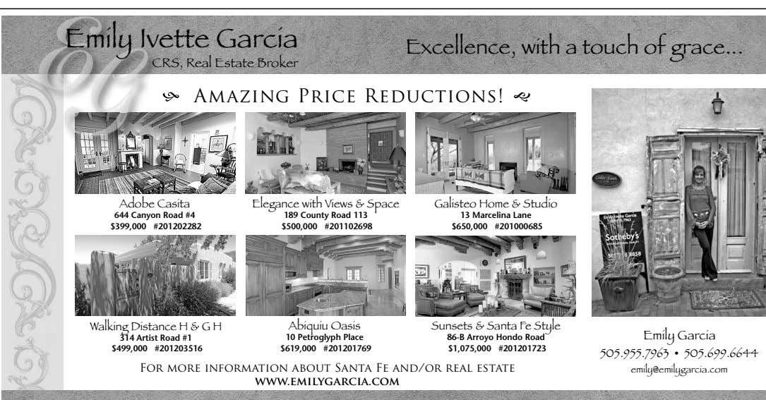 Emily Ivette Garcia Excellence, with a touch of grace CRS, Real Estate Broker h Am