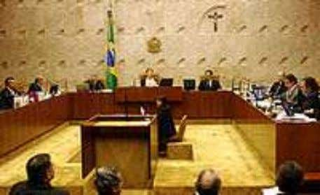 nal Superior Eleitoral e o Superior Tribunal Militar. Lei Interior do edifício do Supremo Tribunal Federal,