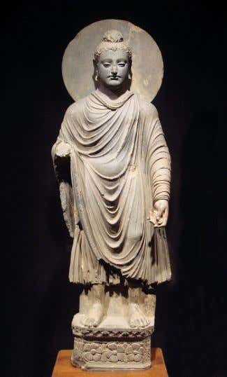 Buddhism Buddhism 1 Standin g Buddha statue at the Tokyo National Museum . One of the