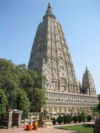 Buddhism 1 1 Liberation Nirvana Mahabodhi temple in Bodh g a y a , India, where