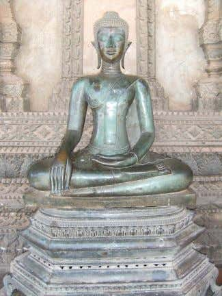 devotion to the Lotus Sutra is the main practice. Yoga Statue of the Buddha in meditation