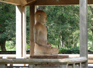 are also states that Arahants abide in order to rest. Samadhi Buddha statue in Anuradhapura, Sri
