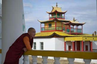 beliefs and practices. Overall Buddhism. [ 1 5 7 ] Buryat Buddhist monk in Siberia there