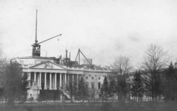 20 Dean A. Herrin F ig . 8 . Photograph of the Capitol dome under construction,
