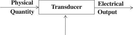 Physical Electrical Transducer Quantity Output