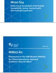 M100-S24 Performance Standards for Antimicrobial Susceptibility Testing; Twenty-Fourth Informational Supplement