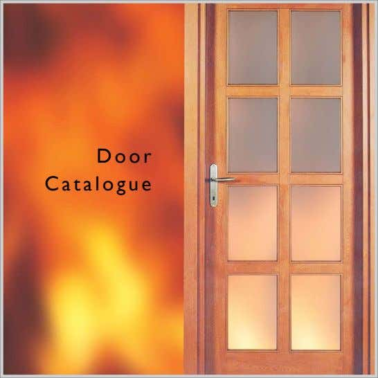 Door Catalogue