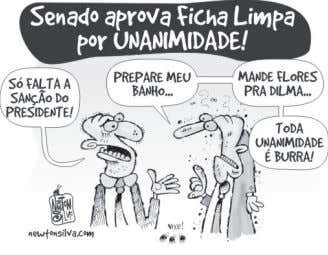 e 11. CHARGE I http://ver.blog.br/tag/ficha-limpa/ CHARGE II CHARGE III