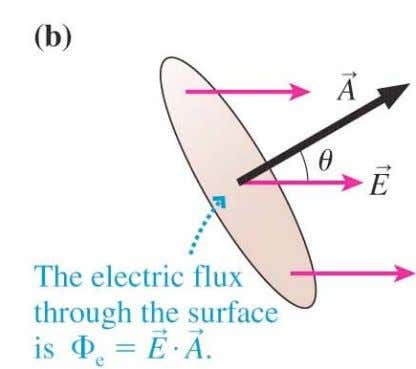 28.1 The electric flux inside a parallel-plate capacitor Copyright © 2008 Pearson Education, Inc., publishing as