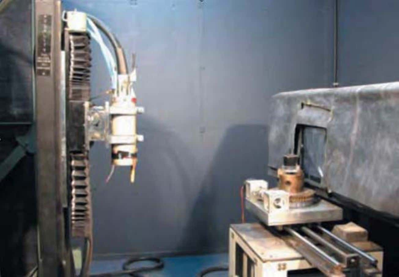 8 : Experimental set-up for cone beam tomography experiments at L&NPS, Purnima Labs, BARC Charlie Chong/