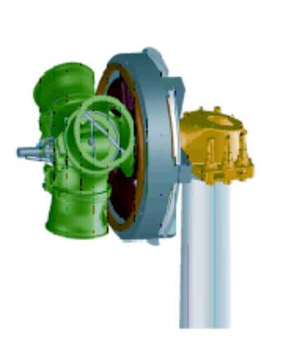 high quality standards in the cast component supply sector. Fig. 16: The Enercon direct drive system