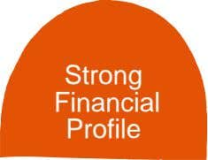Strong Financial Profile