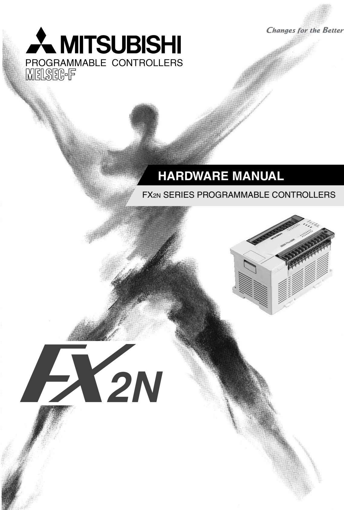 HARDWARE MANUAL FX2N SERIES PROGRAMMABLE CONTROLLERS