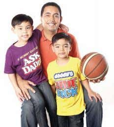 nine-game elimination round. Special messages for DAD at SM Former PBA player Dwight Lago with sons