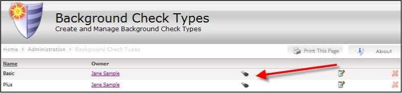 Background Check Type. Background Check Type Security Key 2) Set Security . Background Check Type Security