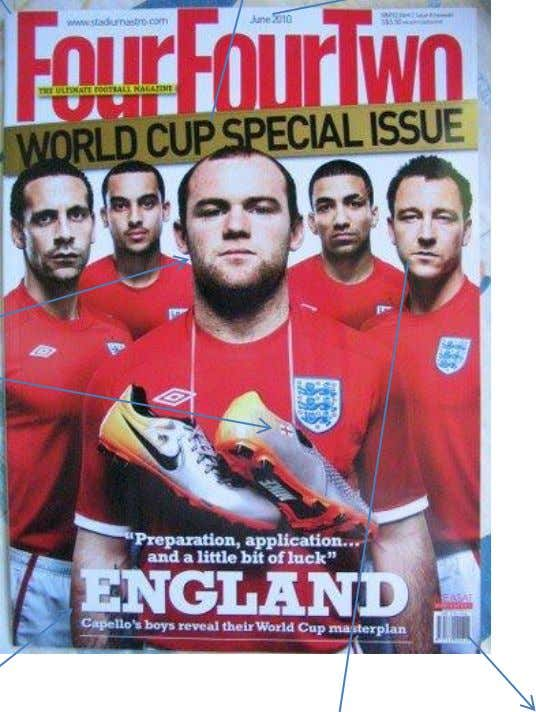 world cup. talking about England's issue in the Below the masthead is some information on what