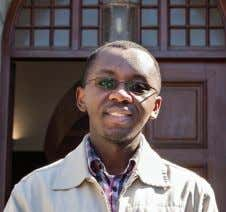 and participates in volun- teer work on a regular basis. Colin Mkhize Mkize has a Masters