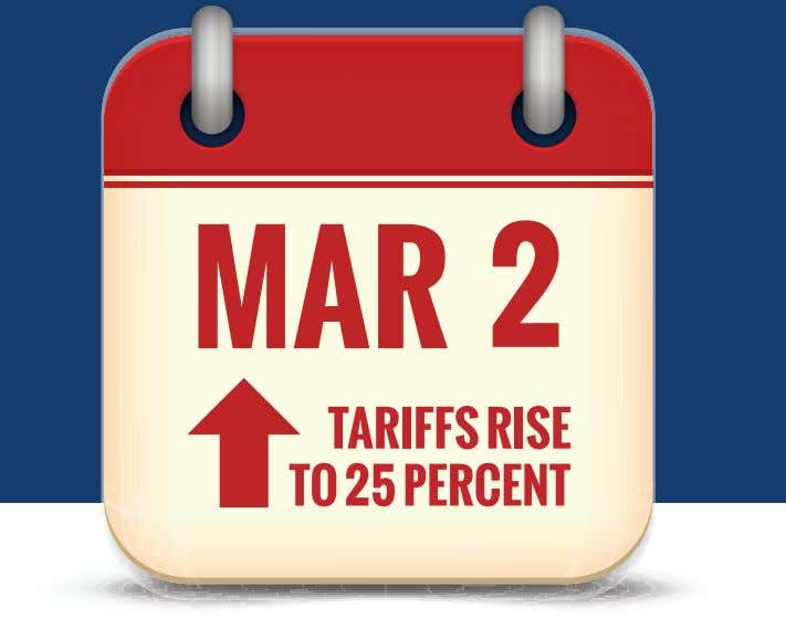SPECIAL REPORT: TARIFF TURMOIL THE EFFECTS OF SECTION 301 TARIFF INCREASES TOLD THROUGH BUSINESSES &