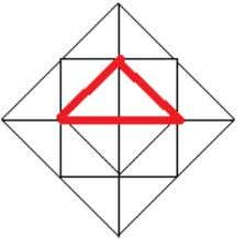 Step 4 There will be 4 such triangles in this picture Step 5 There will be