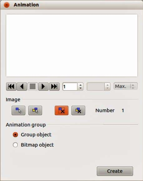 103). The animation controls are explained in Table 8. Figure 103: Animation dialog Chapter 5 Managing