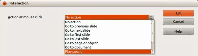 then select No action as the interaction type at Step 3. Figure 97: Interaction dialog Chapter