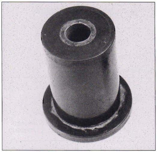 Urethane bushings prevent deflections, but because urethane is a sticky plastic, the use of urethane bushings