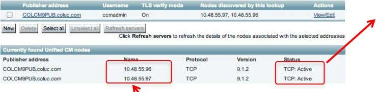 Troubleshooting - Different server Domain No DNS query is required as IP address is used. Will
