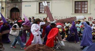 In Equador and the Phillipines They ACT it out Easter  Everything in white  Spring