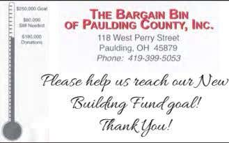 Please help us reach our New Building Fund goal! Thank You!