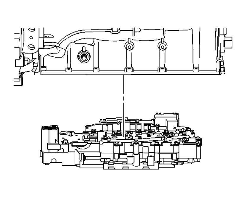 Automatic Transmission - 6L45/6L50/6L80/6L90 - Camaro Fig. 60: Valve Body Assembly Courtesy of GENERAL MOTORS