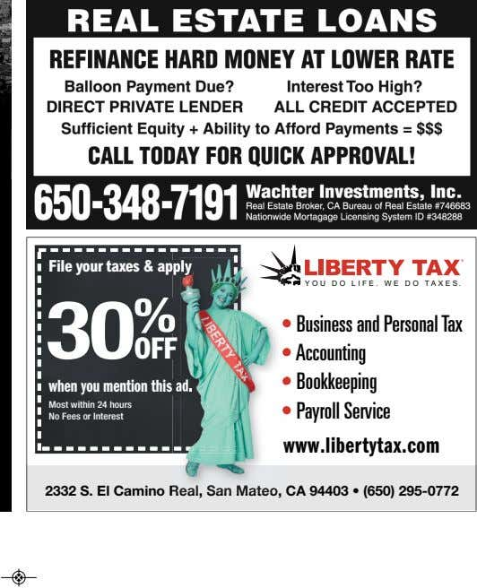 File your taxes & apply p ly YOU DO LIFE. WE DO TAXES. 30 %