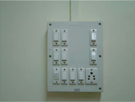 for mounting switches and sockets. Concept Structure 1 : Proposition 2 : Mounting of Switches and