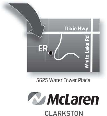 Dixie Hwy ER 5625 Water Tower Place White Lake Rd White Lake Rd