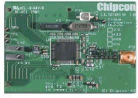 Data Encryption Standard chip for secure communication. Chipcon CC1010EM Figure 8 Source [39] C h i