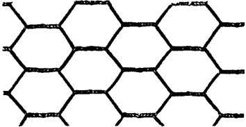 Fig. 5.1—Diamond mesh lath. Fig. 5.2—3/8 in. rib lath. Fig. 5.3—Woven-wire mesh lath (figure courtesy of