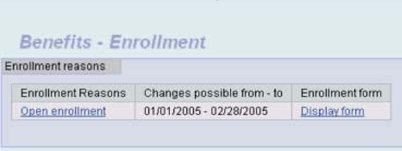 Example: Template Changes Only Standard Enrollment 27