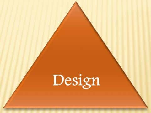 MAIN COMPONENTS OF PRODUCT DESIGN: Ergonomics Aesthetics Technology