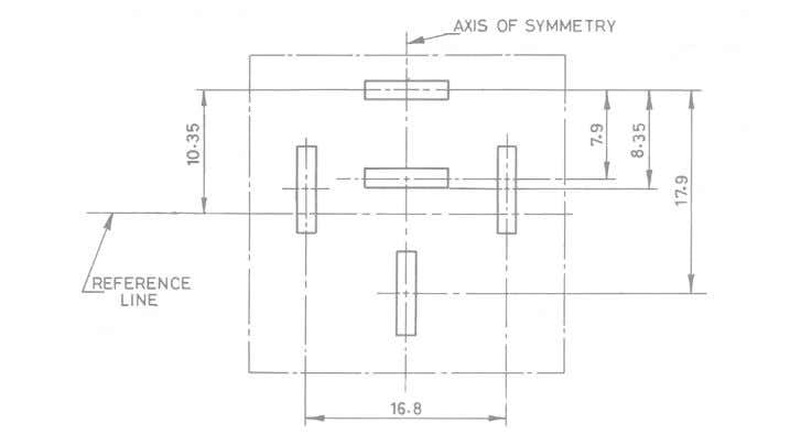 FIG. 1 OVERALL DIMENSIONS FOR RELAYS AND FLASHERS NOTES 1 The dimensions in Fig. 2 refer